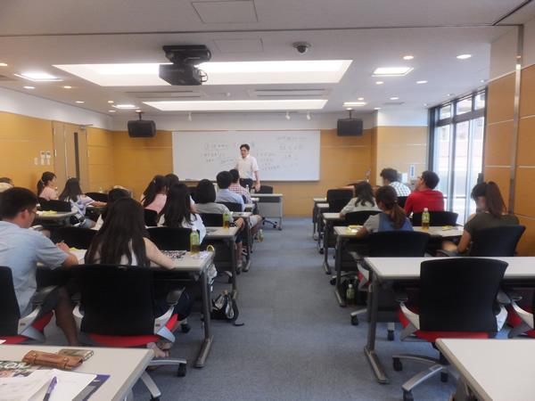 短期コース授業風景